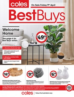 Coles Best Buys - Home Decorator