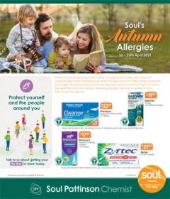 Soul's Autumn Allergies