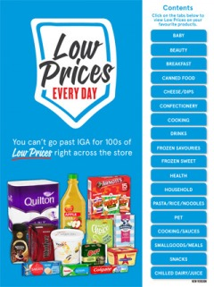 You'll find 100's of Low Prices right across the store