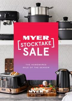 Myer Stocktake Sale