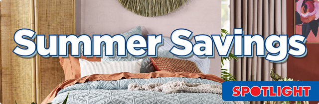 Summer Savings - Spotlight