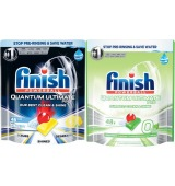 Finish Quantum Ultimate Pro Dishwashing Tablets 46 Pack or Ultimate Pro 0% 48 Pack