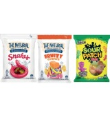 The Natural Confectionery Co. Family Bag or Sour Patch 180g-260g