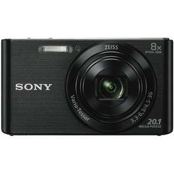 Cybershot W830 Black Digital Camera