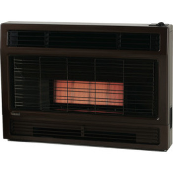 Spectrum Inbuilt NG M/Brown Heater Flued