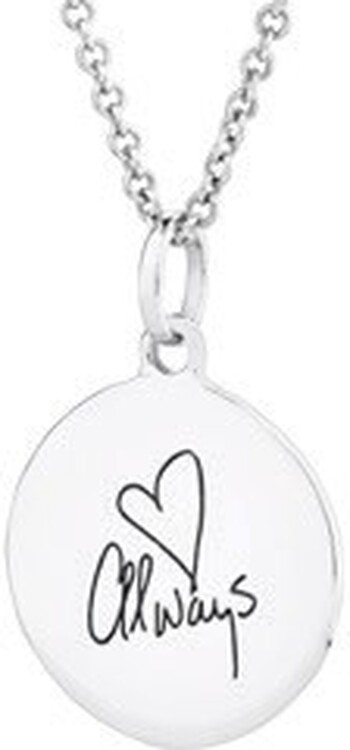 Love Always' Pendant in Sterling Silver