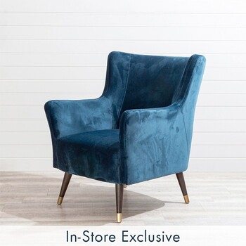 Ivy Navy Chair by M.U.S.E.