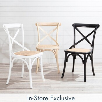 Bentwood Cross Back Chair by M.U.S.E.