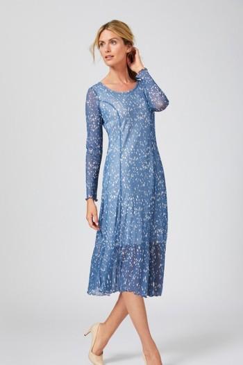 Capture Mesh Longsleeve Dress