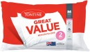50-off-Tontine-Great-Value-Standard-Pillows-2-Pack Sale