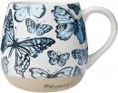 RGA-x-Bromley-Hug-Me-Mug-550ml-18.5oz-Blue-Butterflies Sale