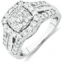 Engagement-Ring-with-1-12-Carat-TW-of-Diamonds-in-10ct-White-Gold Sale