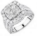 Engagement-Ring-with-4-Carat-TW-of-Diamonds-in-14ct-White-Gold Sale