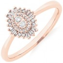 Evermore-Promise-Ring-with-0.15-Carat-TW-of-Diamonds-in-10ct-Rose-Gold Sale