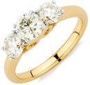 Engagement-Ring-with-1.63-Carat-TW-of-Diamonds-in-14ct-Yellow-Gold Sale