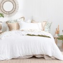 Washed-Linen-White-Quilt-Cover-Set-by-M.U.S.E Sale