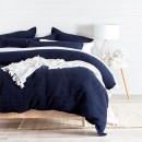 Chunky-Waffle-Navy-Quilt-Cover-Set-by-M.U.S.E Sale