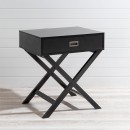 Braxton-Black-Side-Table-by-Habitat Sale