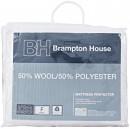 Brampton-House-50-Wool-50-Polyester-Mattress-Protector Sale