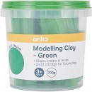 NEW-Modelling-Clay-Tub-700g-Green Sale