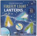 Make-Your-Own-Firefly-Lanterns Sale