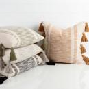 Chunky-Stripe-Tassel-Cushion-by-Habitat Sale