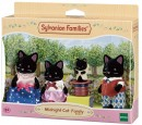 Sylvanian-Families-Midnight-Cat-Family Sale