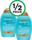 OGX Extra Strength Shampoo or Conditioner 385ml