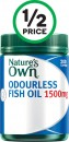 Nature's Own Odourless Fish Oil 1500mg Tablets Pk 200‡