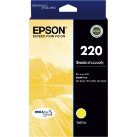 220-Std-Capacity-DURABrite-Ultra-Yellow-Ink-Cartridge on sale
