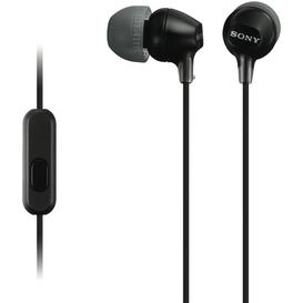 In-Ear-MDREX15APB-Black-Headphones on sale