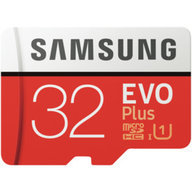 32GB-EvoPlus-Micro-SDXC-Memory-Card on sale