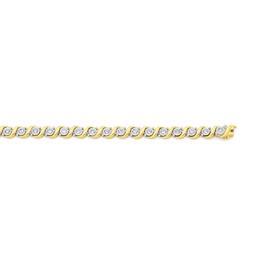9ct-Gold-Diamond-Bracelet on sale