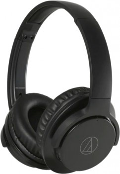 Audio-Technica-Wireless-Noise-Cancelling-Headphones-Black on sale
