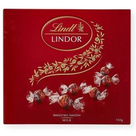 Lindt-Lindor-Milk-Chocolate-Box-150g on sale