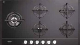 DeLonghi-90cm-Gas-on-Glass-Cooktop on sale