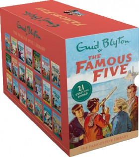 The-Famous-Five-Library on sale