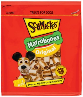 Schmackos-Marrobones-737g on sale