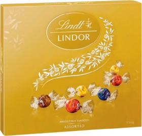 Lindt-Lindor-Assorted-Chocolates-Box-150g on sale