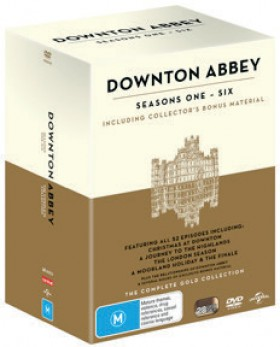 Downton-Abbey-Season-1-6-Gold-Box-Set-DVD on sale