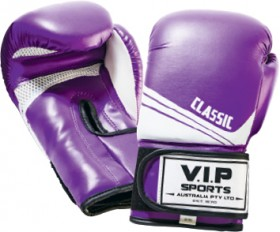 V.I.P-Boxing-Gloves-Purple on sale