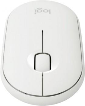 Logitech-Pebble-Compact-Wireless-Mouse-White on sale