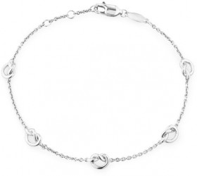 Knot-Bracelet-in-Sterling-Silver on sale