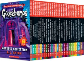 Goosebumps-Monster-Collection on sale