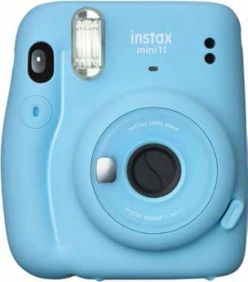 Instax-Mini11-Camera-Sky-Blue on sale