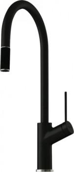 Oliveri-Santorini-Black-Vilo-Pull-Out-Mixer on sale