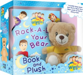 The-Wiggles-Rock-a-Bye-Your-Bear-Book-Plush on sale