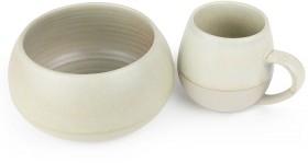 Morning-Hugs-Mug-Bowl-400ml-1L-13.5oz-33.8oz-Sage on sale