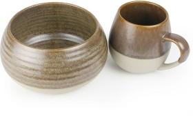 Morning-Hugs-Mug-Bowl-400ml-1L-13.5oz-33.8oz-Toffee on sale