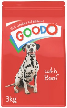 Good-O-Dry-Dog-Food-3kg-Beef on sale